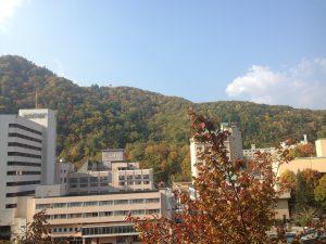 定山渓,景色