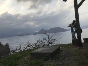 洞爺湖,望遠鏡,景色