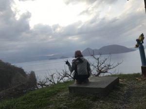 洞爺湖,景色