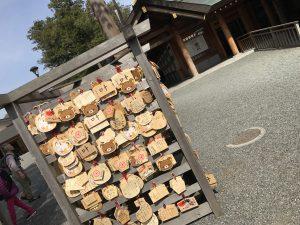 リラックマの絵馬,北海道神宮