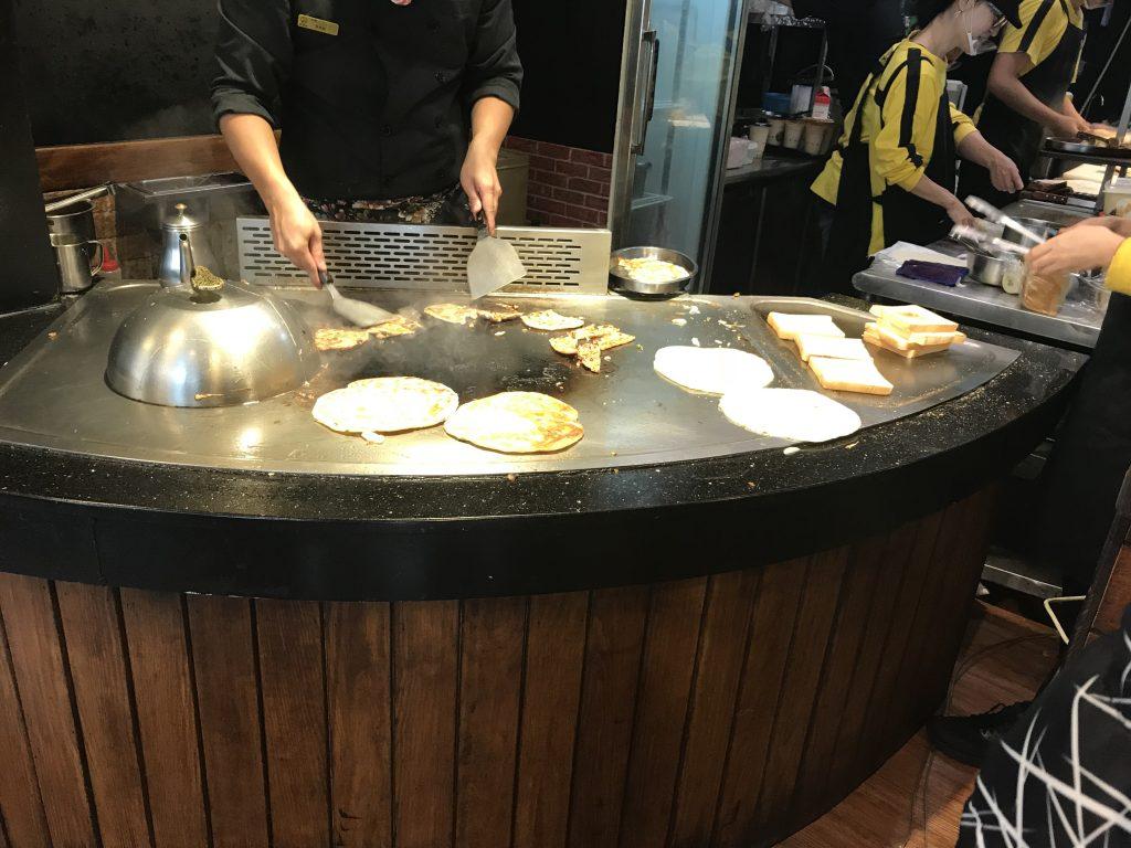 扶旺號,台湾,朝食