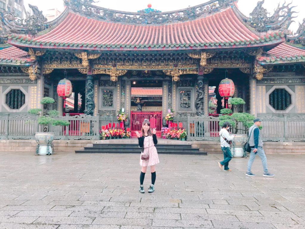 龍山寺、台湾、台北、パワースポット,観光
