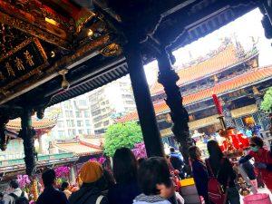 龍山寺、台湾、台北