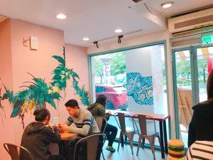 西門町,台湾,台北,Meat Up, 店内
