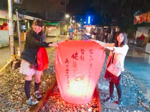 ランタン,天灯,台湾,十分