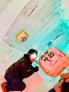 氷瀑まつり,層雲峡温泉,北海道,国士無双