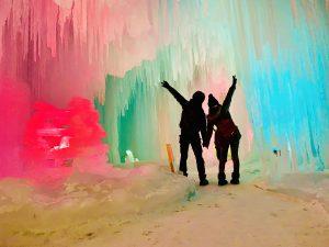 氷瀑まつり,層雲峡温泉,北海道
