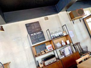 オンザテーブル,カフェ,東川,店内