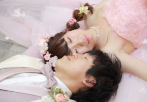 前撮り,結婚式,カクテルドレス,ベルクラシック旭川,